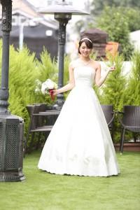 7817bb8e7fe04 2015.11.14 結婚式 二次会 ウェディングドレス